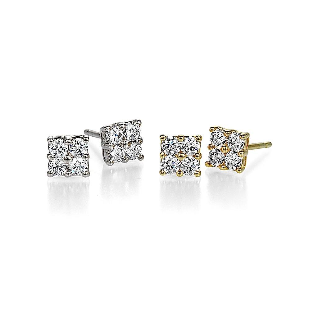 4 Stone Diamond Pierce By Mark Hiroshi Willis