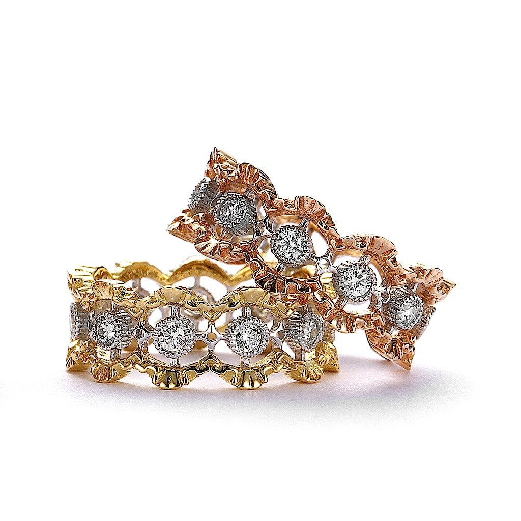 Antique Style Lace Diamond Ring (2.1) by Mark Hiroshi Willis