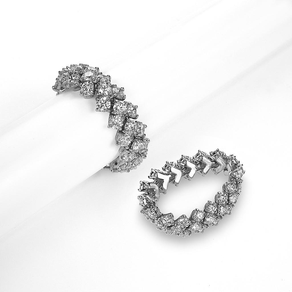 Flex Diamond Eternity Ring By Mark Hiroshi Willis